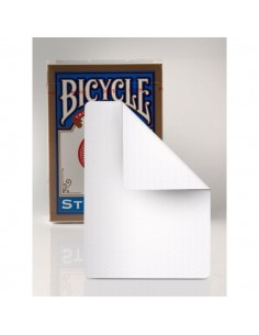 Carta bicycle doble blanco