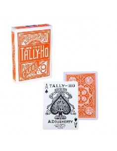 Tally ho fan back naranja
