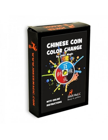 Cambio de color de moneda china...