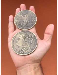 Moneda morgan dolar gigante