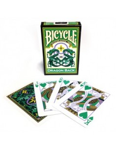 Baraja bicycle dragón verde