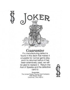 Baraja bicycle joker...