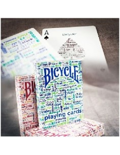 Baraja Bicycle Table talk azul