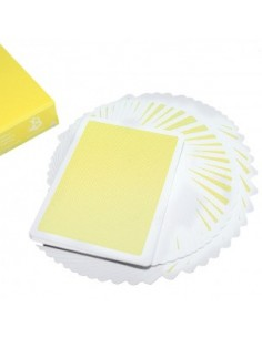 Steel Playing Cards - yellow