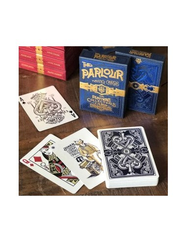 Parlour playing cards