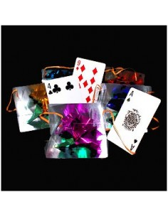 Cards to bag