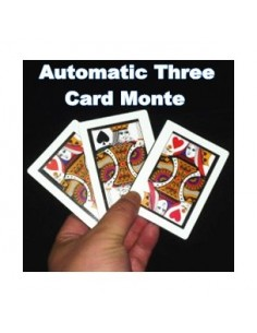 Automatic three card monte
