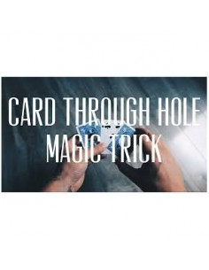 CARD THROUGH HOLE